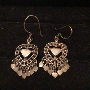 ❤️VALENTINES DAY ❤️SS Heart Earrings #49